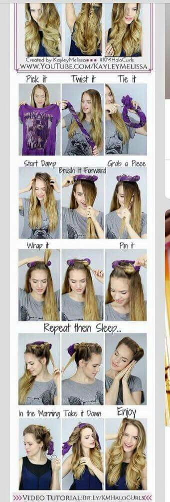For curls overnight