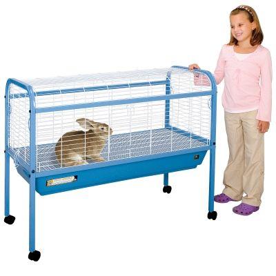 Large indoor rabbit cage garden rabbit hutch for Design indoor rabbit cages