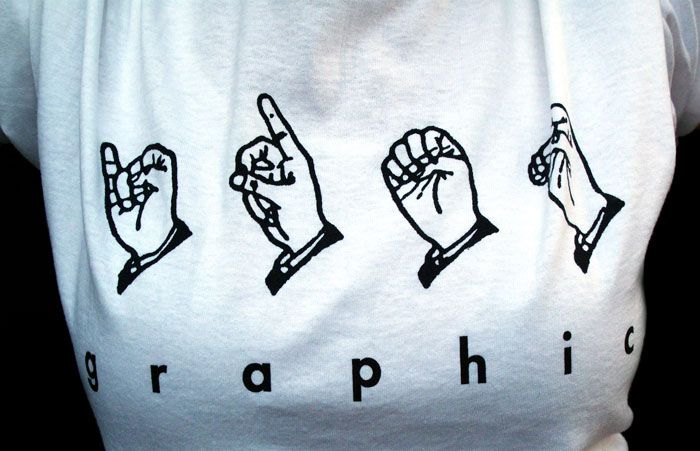 Ideographic T-shirt