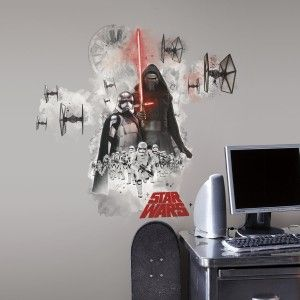 Star Wars EP VII Villians Burst P&S Giant Wall Decal