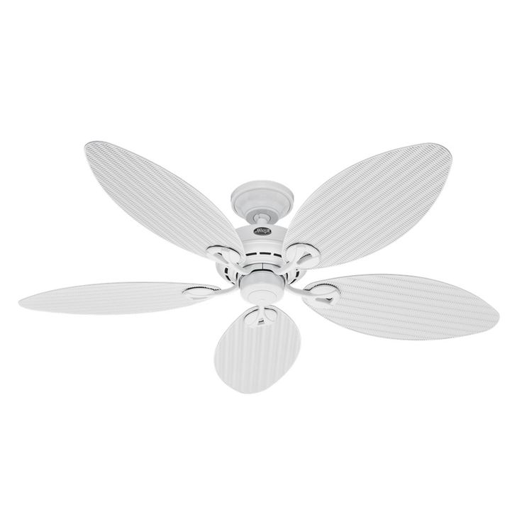 The 25 best hunter outdoor ceiling fans ideas on pinterest hunter fan bayview outdoor ceiling fan white aloadofball Images