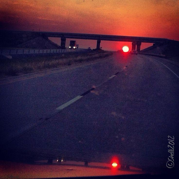 """""""Sunset Drive"""" photo by Shelli Fitzpatrick"""