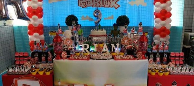 Fiesta de Roblox para niños, decoracion de roblox para fiesta de cumpleaños, ideas para decorar un cumpleaños de roblox, diseño de pasteles de roblox, fiesta tematica de roblox, ideas para hacer una fiesta de roblox, como hacer una fiesta de cumpleaños con tema de roblox, centros de mesa de roblox, piñatas de roblox, dulceros de roblox para cumpleños, cumpleaños de roblox para niñas, roblox party #fiestaroblox #decoracionroblox
