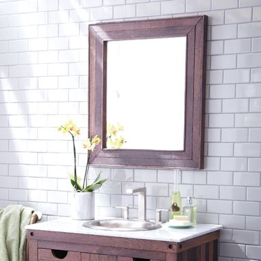 Native Trails Cabernet Mirror Part Of The Acclaimed Vintner S Collection By Is Made From Wine Stained Oaking Staves Used To