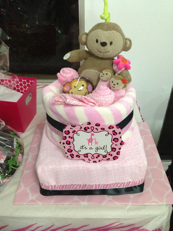 girl baby showers baby diaper cakes cake girls baby girl girl