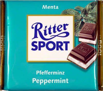 Naneli çikolata nasıl olur diye merak edenlere!   Ritter Sport Nane Dolgulu Bitter Çikolata  http://www.cikolatalimani.com/Ritter-Sport-Nane-Dolgulu-Bitter-Cikolata,PR-17.html