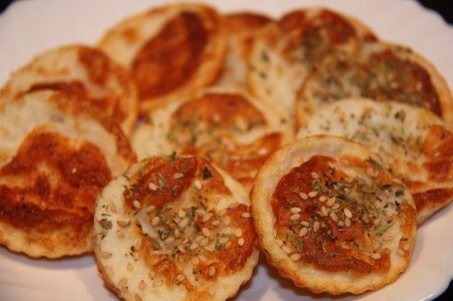 Cocinando a mis amores: Galletas saladas Dukan