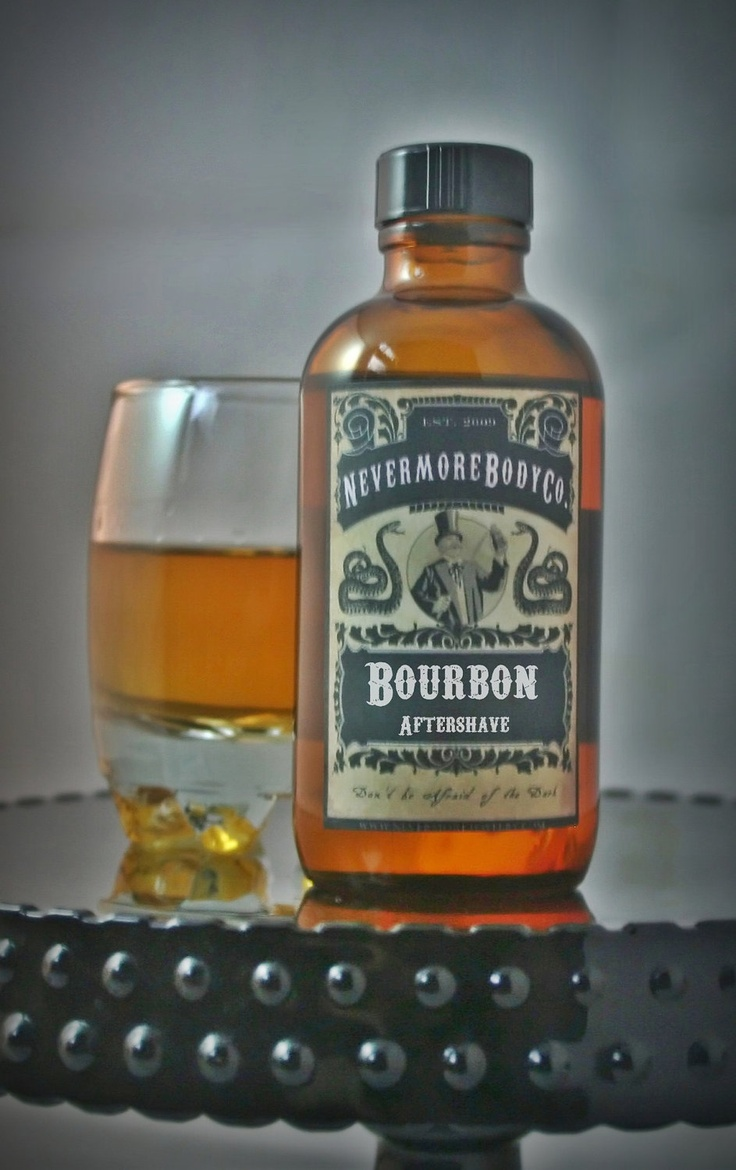 Bourbon Aftershave by NevermoreBodyCompany. $14.00, via Etsy.