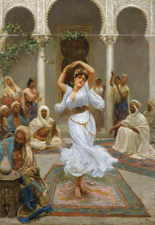 The Dance - Fabio the colors and the culture speak to me.
