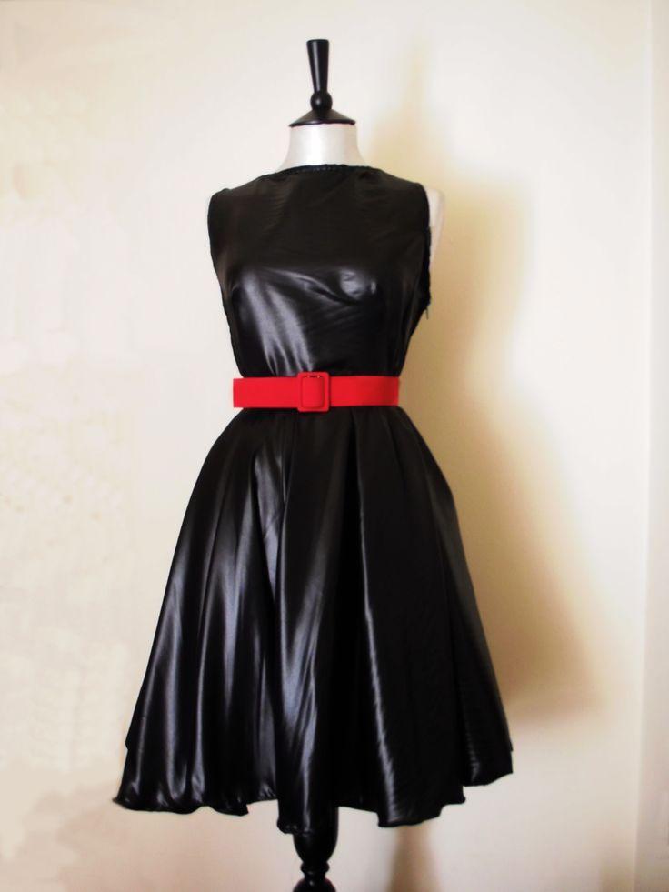 Leather look like Dress.