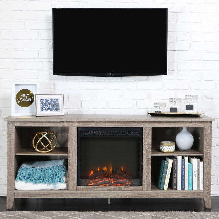 Fireplace TV Stand fireplace tv stand : The 25+ best Electric fireplace tv stand ideas on Pinterest ...