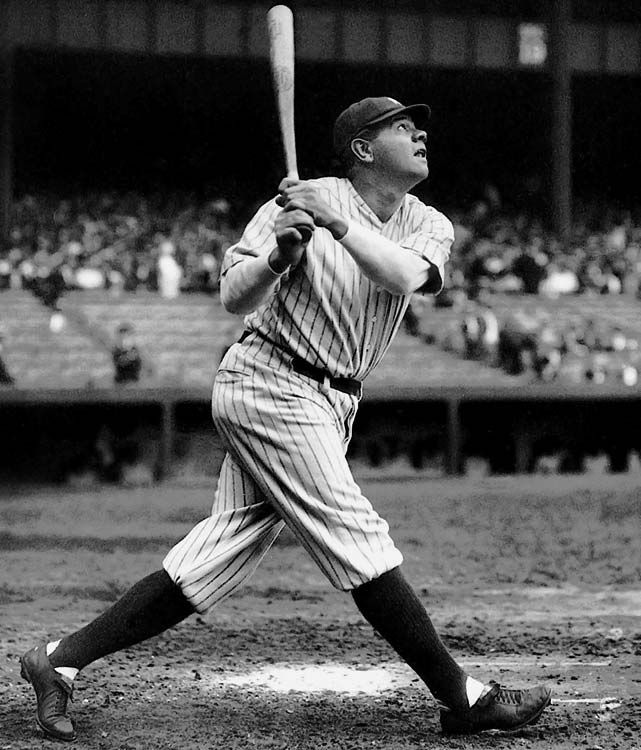 .690 lifetime slugging pct.  Babe Ruth  Though Ruth's more glamorous records have been eclipsed, this one has withstood challenges from Lou Gehrig to Ted Williams to Barry Bonds and remains intact. Albert Pujols, currently the game's most prolific slugger, has never reached .690 even once in his stellar career.
