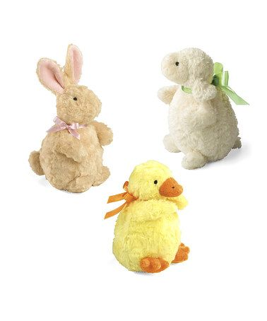 Look at this #zulilyfind! Baby Plush Chime Set #zulilyfinds