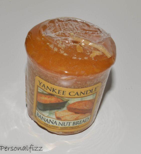 Yankee Candle Votive banana nut bread