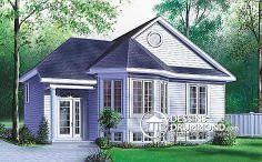 Plan de maison no. W2391 de dessinsdrummond.com