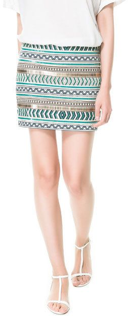 #Zara                     #Skirt                    #EMBROIDERED #SKIRT #Skirts #ZARA #United #States   EMBROIDERED SKIRT - Skirts - TRF | ZARA United States                                                   http://www.seapai.com/product.aspx?PID=1262425