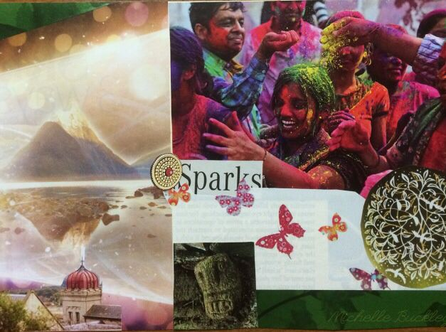 Creative Spark By Michelle Buckley 2014 Collage