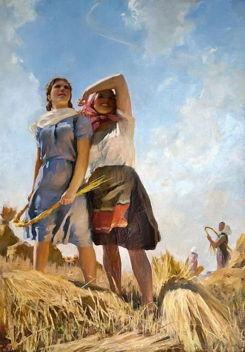 "Malaev Fedor ""flying airplanes"". 1950"