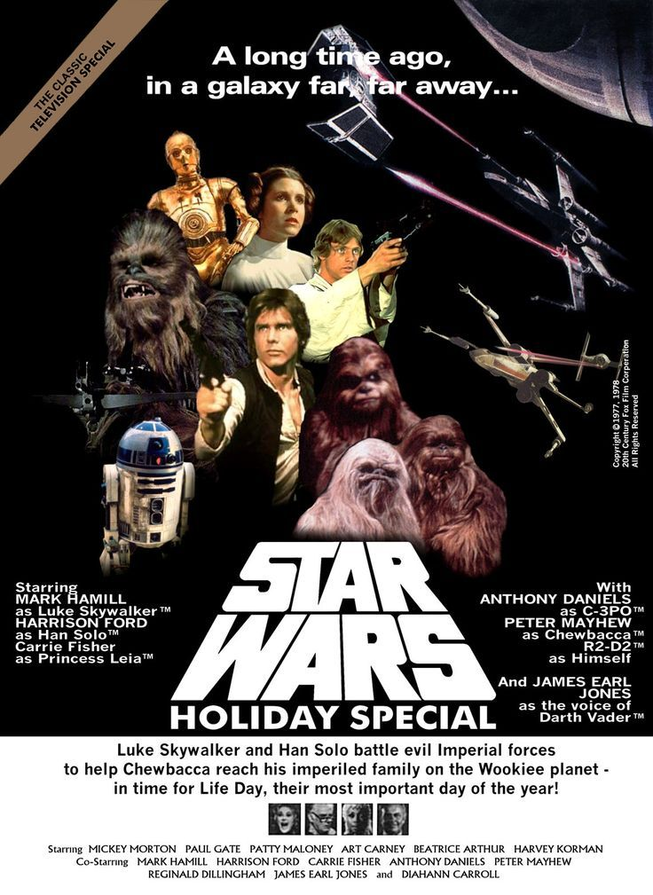 THE STAR WARS HOLIDAY SPECIAL movie review starring Harrison Ford, Mark Hamill, Carrie Fisher, Peter Mayhew, Art Carney, Jefferson Starship, and Bea Arthur!