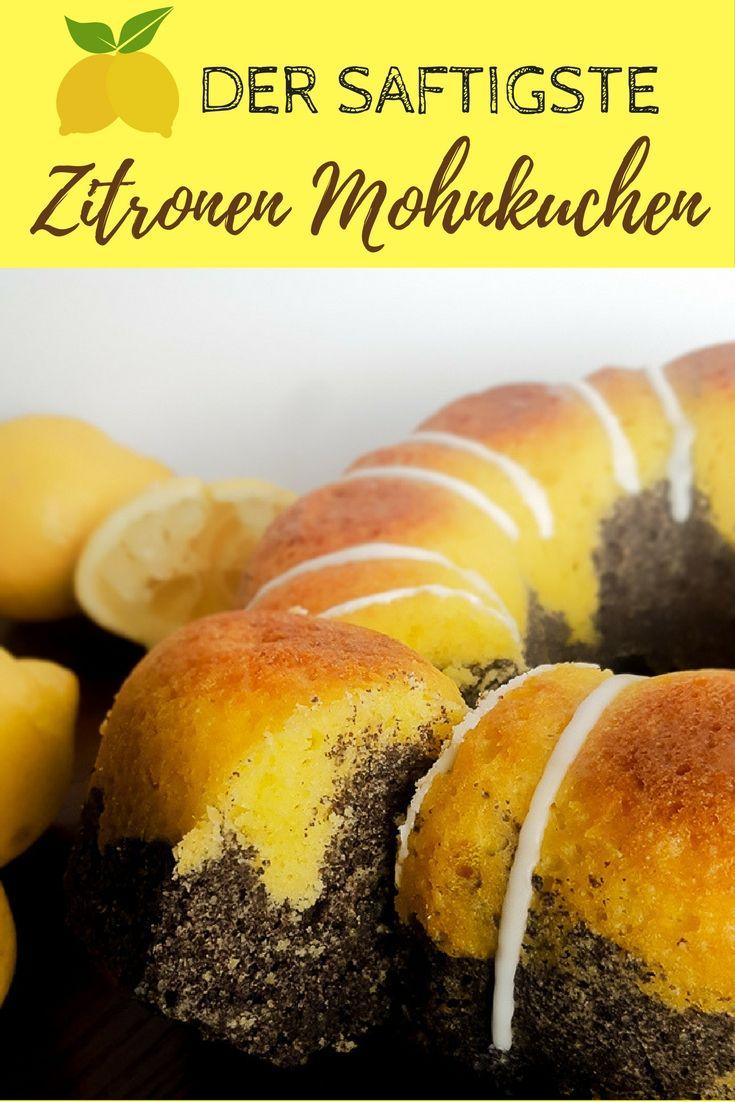 Extra Saftiger Zitronen Mohnkuchen. ein saftiger Zitronen Mohnkuchen ist einer meiner Lieblingskuchen. So schnell gemacht und beliebt bei Groß und Klein! Unbedingt ausprobieren!