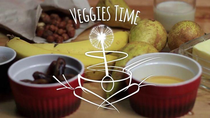 Pečené hrušky s veganským zmrzlinovým krémem #vegetarian + #vegan