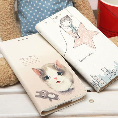 Ecoskin Flip Diary Case Galaxy Note 3 Case Galaxy Note 2 Case 4 Types Korea made #Ecoskin