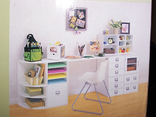 I Know Itu0027s For Scrapbooking But I Would Love To Have A Desk Like This.