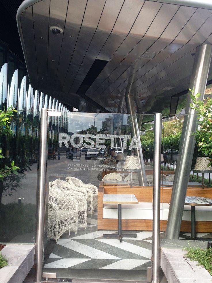 HEATSTRIP Rosetta Restaurant-Crown Casino, Melbourne