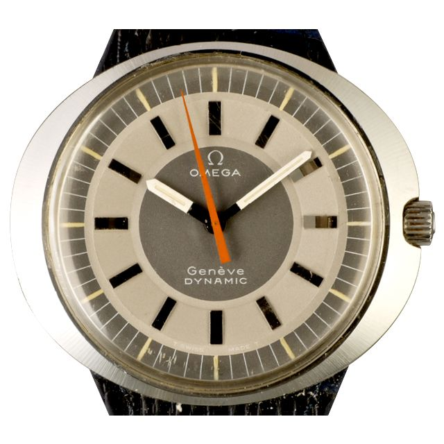 Created for the Prix de Ville de Geneve in 1965, the Omega Dynamic was first released to the public in 1967. It was conceived by Robert Foster and designed by Raymond Thevanaz. They visualized a watch which could give the idea of modernity and personality to the wearer. This idea was later used by Nicolas Hayek when conceiving the Swatch.  The Dynamic is a cool watch, its distinctive design born of the free-living spirit of the late 60s and early 70s and was all computer designed, super…