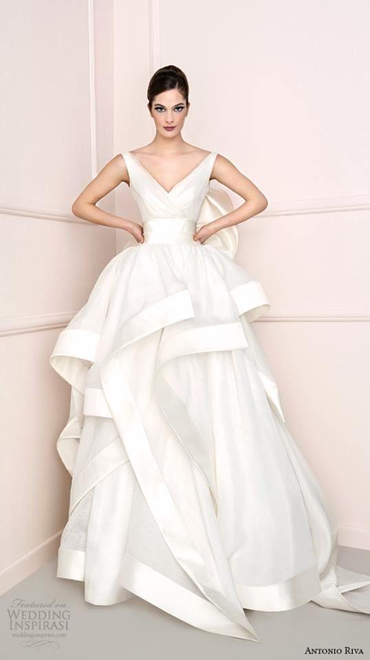Antonio Riva Wedding Dress 2016 Bridal Collection   Wedding Inspirasi @ Tumblr