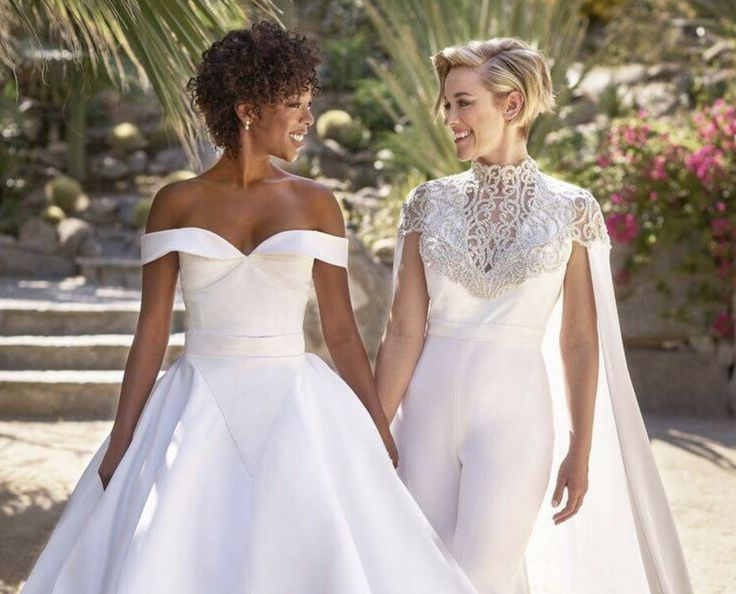 (1) Samira Wiley and Lauren Morelli got married - Imgur