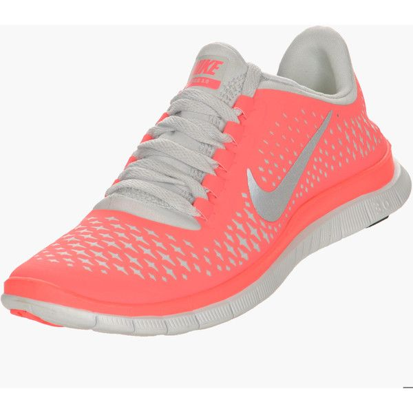 Nike Free 3.0 V4 Women's Running Shoes ($100) ❤ liked on Polyvore