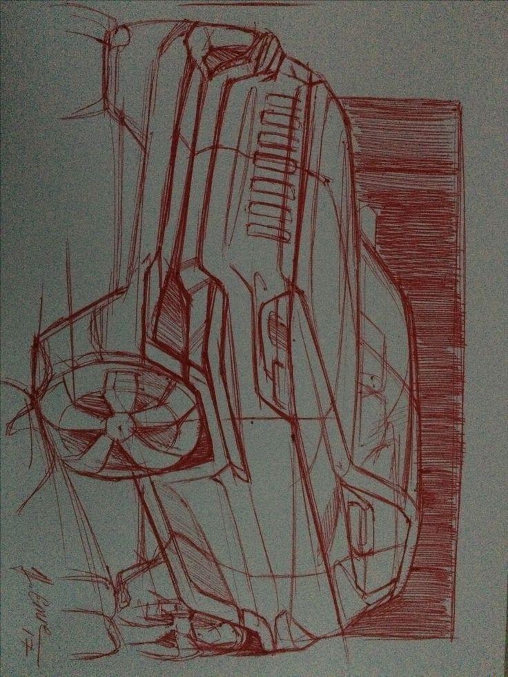 Car sketch Jeep