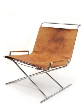 SLED CHAIR - WARD BENNETT - HERMAN MILLER - http://www.hermanmiller.com/products/seating/lounge-seating/sled-chair.html