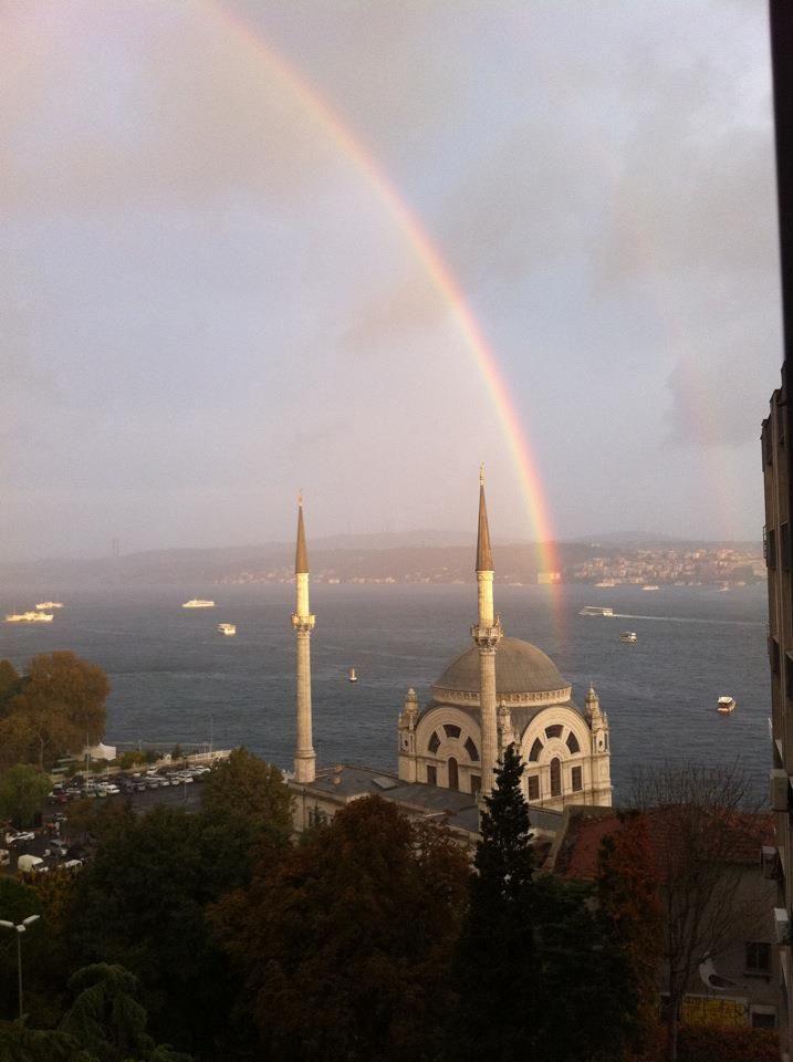 istanbul under the rainbow