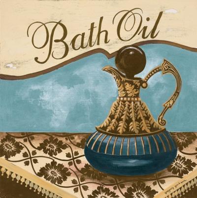 Bath Accessories II  Art Print  by Gregory Gorham