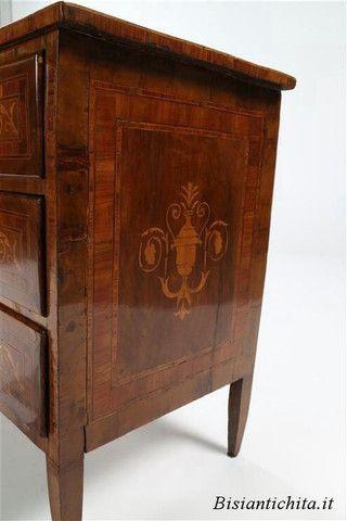 Cassettone Luigi XVI epoca 1770