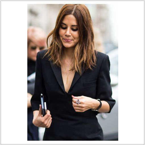 Christina-Centenera trägt die #Trendhaarfarbe Haselnussbraun © Manuel Pallhuber/Hyped Vision