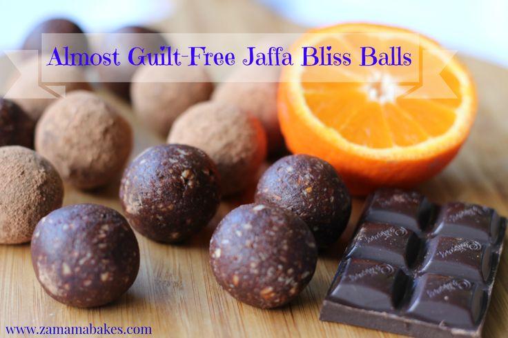 Jaffa Bliss Balls Header