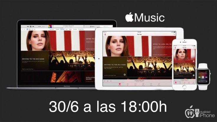 Ya sabemos la hora exacta en la que Apple Music empezará a sonar - http://www.actualidadiphone.com/ya-sabemos-la-hora-exacta-en-la-que-apple-music-empezara-a-sonar/