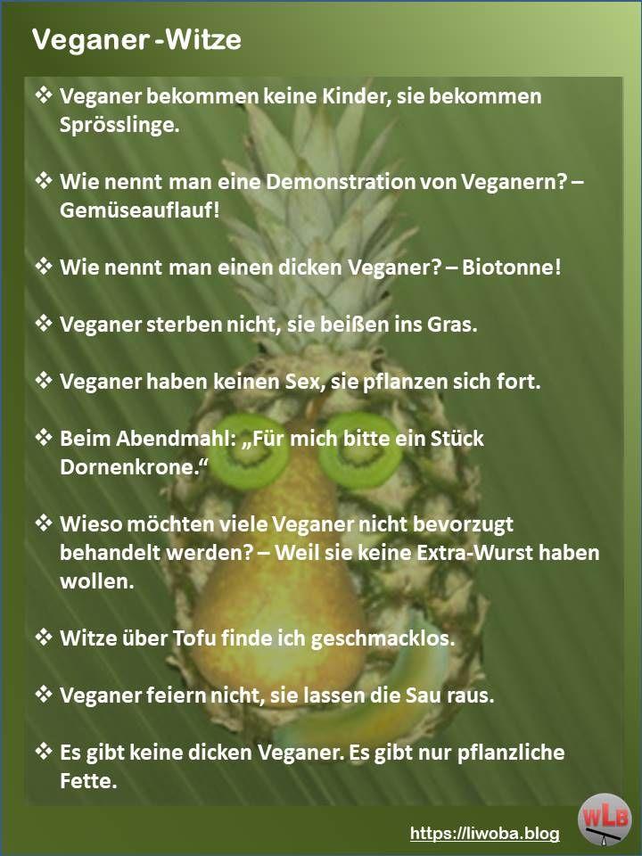 Best of #Veganer-#Witze Lachen ist gesund! | Veganer witze