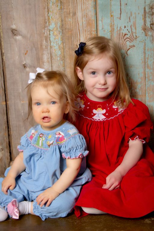 """""""The Girls"""" <3 Portrait Creations Professional children's Photography Studio in Charlotte, NC."""