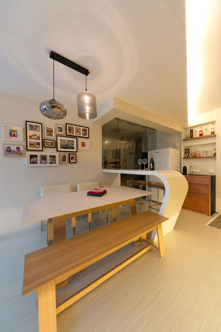 D 39 initial concept interior design company singapore wet for Dry kitchen ideas
