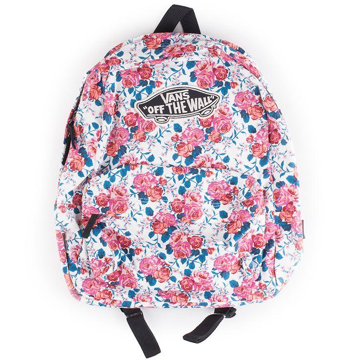Vans Leila Realm Hana Floral Backpack