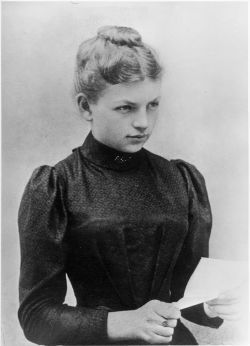 Clara Immerwahr (1870–1915) One of the first women to receive a PhD, a notable German chemist and pacifist. Her husband Fritz Haber developed the poisonous gas used during World War I. She shot herself through the heart in protest and resignation using her husband's military pistol in the backyard of their house.