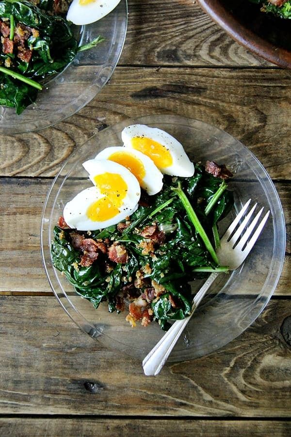 Pin for Later: The Best Effing Spinach Salad Recipe Ever — Seriously