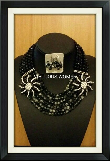 Lovely beads black and while all colours available