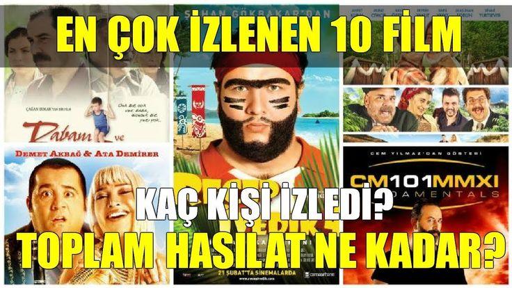 Türkiye'de En Çok İzlenen 10 Film - 2017