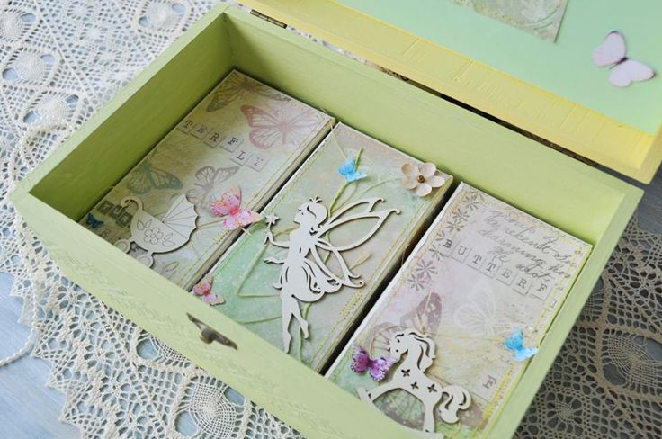Baby Keepsake Box, Baptism Keepsake Box, Christening Keepsake Box. Perfect Gift for Baby Shower.