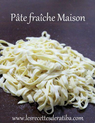 Pâte fraîche maison pour lasagne , tagliatelles , raviolis ..